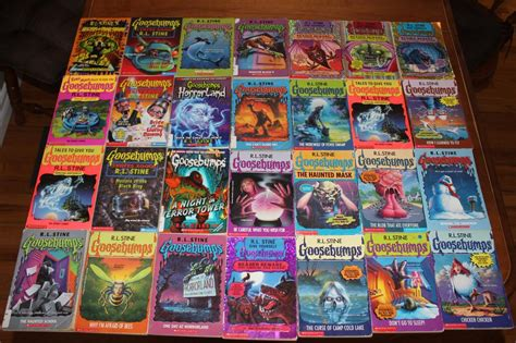 list of goosebumps books with pictures goosebumps collection nepean ottawa
