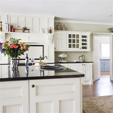 country kitchen white cabinets modern country kitchen housetohome co uk