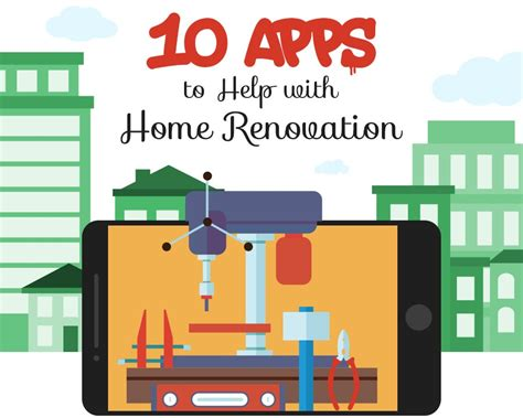 home renovation app the top 10 apps for home renovation infographics directory