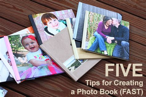 creating a picture book 5 tips for creating a photo book fast the creative
