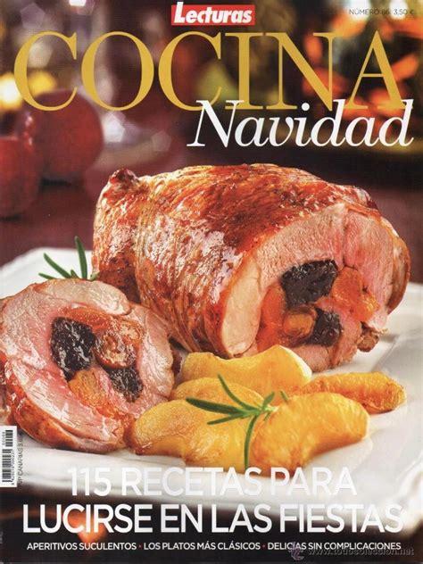 recetas de cocina revista lecturas lecturas cocina n 86 navidad 115 recetas par comprar