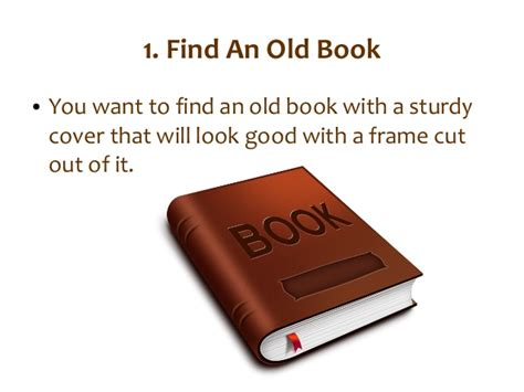 turn pictures into a book how to turn a book into a picture frame