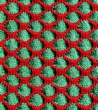 two colour knitting patterns free learn something new the honeycomb pattern new and