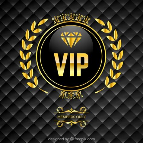 Car Wallpapers Free Psd Files Golden by Vip Padded Background With Golden Logo Vector Free
