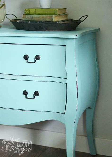 chalk paint robin s egg blue how to paint a of furniture in 3 hours with