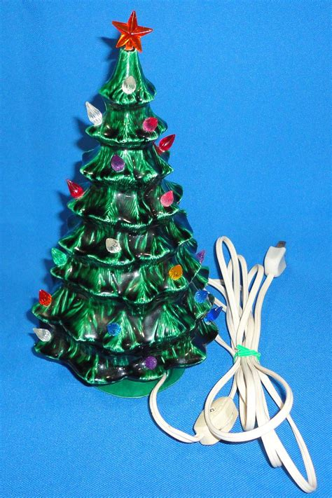 tree light toppers ceramic tree base topper light cord switch