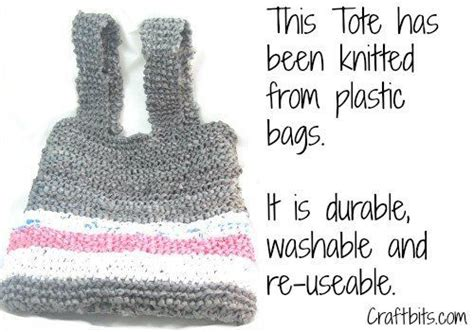 how to knit plastic bags 17 best images about knitting bags on free