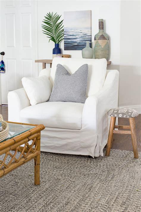 ikea slipcovered sofa ikea farlov slipcovered chair review the coastal