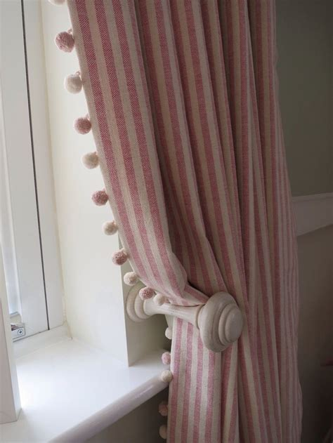 curtain trimmings best 25 pom pom curtains ideas on curtains to