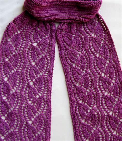 knit scarf pattern lace knit scarf pattern dayflower lace turtleneck scarf knitting