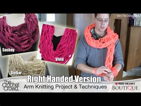 left handed arm knitting right handed arm knitting tutorial