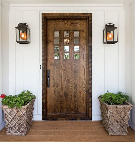 wood exterior front doors 17 best ideas about farmhouse front doors on