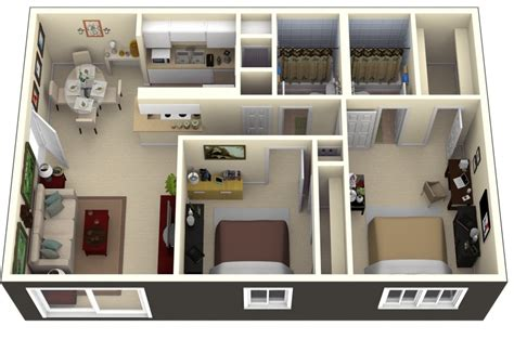 two bedroom plan design 50 two quot 2 quot bedroom apartment house plans architecture