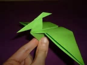pterodactyl origami origami dinosaur pterodactyl how to make