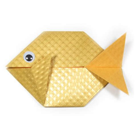 origami fish easy how to make an easy origami fish page 1