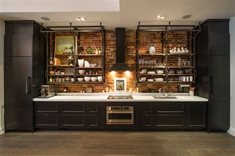 Home Bar Lighting industrial cabinet pulls kitchen industrial with black
