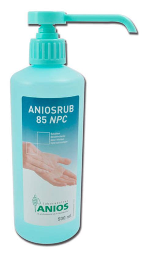 solution hydroalcoolique aniosrub 85 npc 500ml anios
