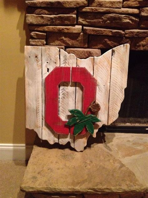 ohio woodworking wooden ohio state sign by bentwoodcustoms on etsy