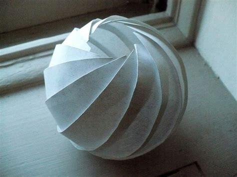 origami sphere easy the world s catalog of ideas