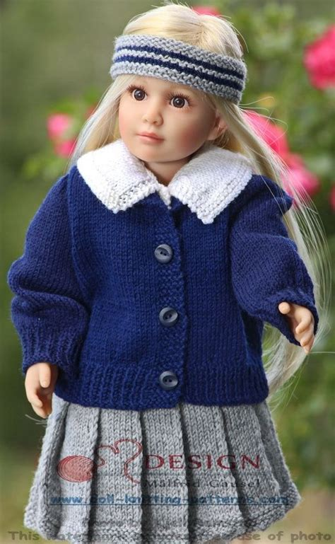 dolls clothes knitting patterns uk the 234 best images about knitting doll clothes on
