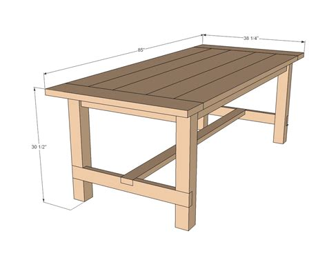 Standard Dining Table Sizes Standard Dining Room Table Size 13832