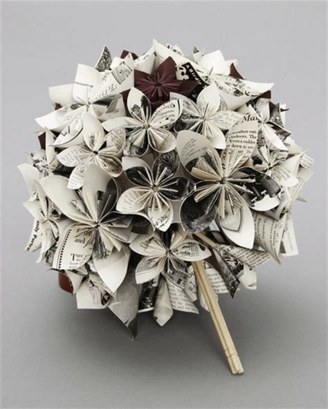 paper craft flowers bouquet newly domesticated paper flower wedding bouquet