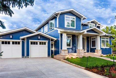 exterior house paint colors photo gallery house paint colors exterior white and blue stonerockery