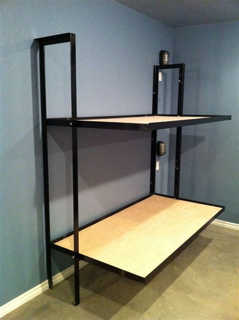 folding bunk bed plans folding bunk beds without mattress small rooms