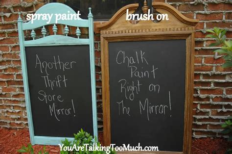 chalk paint pros and cons best 25 chalkboard spray paint ideas on