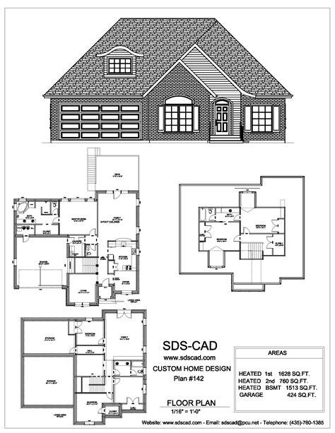 blueprints house sdscad house plans 91 sds plans