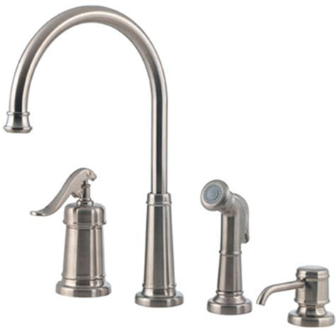 price pfister ashfield kitchen faucet price pfister gt26 4ypk ashfield 4 kitchen faucet