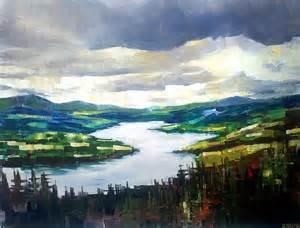painting landscapes landscape zlatko