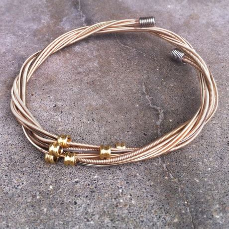 how to make jewelry out of guitar strings 17 best images about string jewelry on