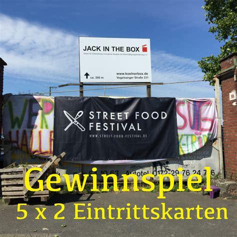 Der Garten Food Festival by Gewinne Einen Eintritt F 252 R Das Food Festival In