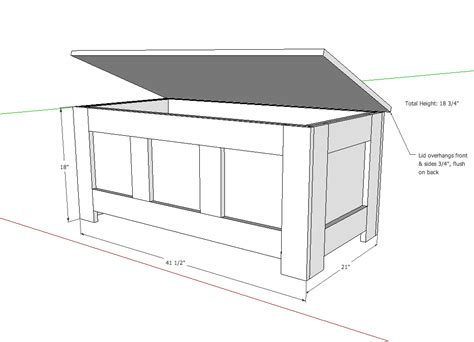 Chest Blueprints Pdf Woodworking