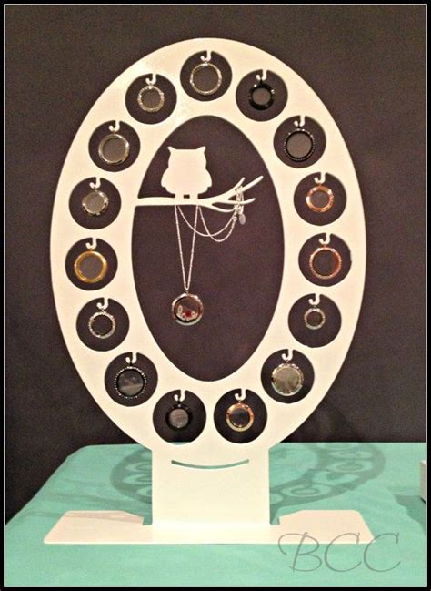 origami owl jewelry display 15 locket owl display large o pink limited quantities
