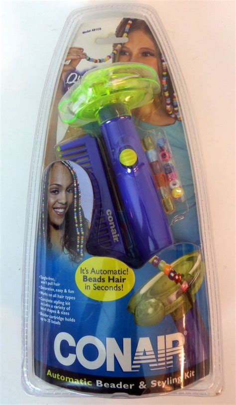 how to bead hair with a beader conair automatic beader bead styling kit purple