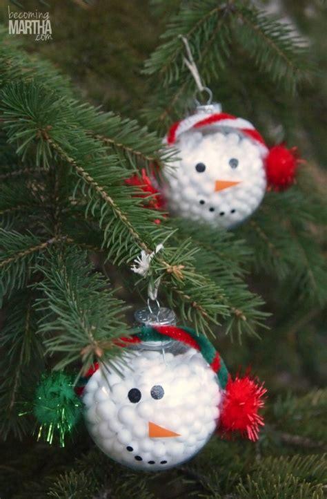 handmade snowman ornaments 13 handmade ornaments using vinyl