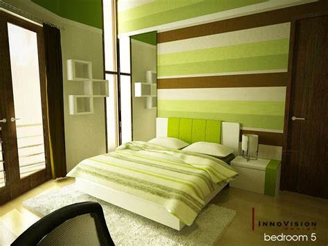 green bedroom design green color bedrooms interior design ideas interior