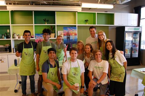 paint nite glassdoor what interns about working at glassdoor glassdoor