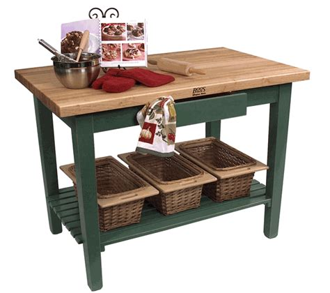 kitchen island work table boos classic country work table kitchen island 48 quot x 24 quot 1 shelf 8 colors on sale free