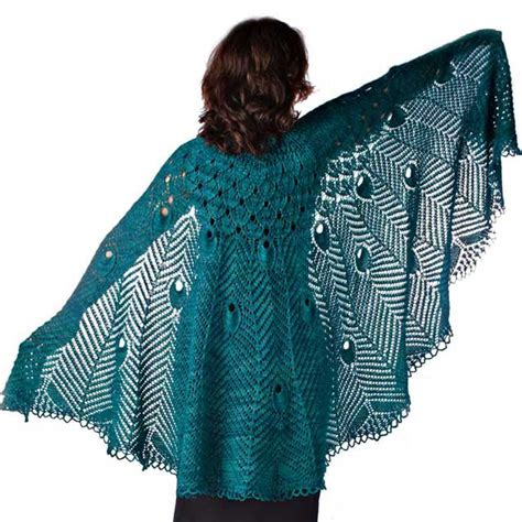 peacock knitting pattern nittin july 2008