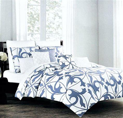 tahari home king comforter set tahari home 3pc luxury cotton duvet cover set royal blue