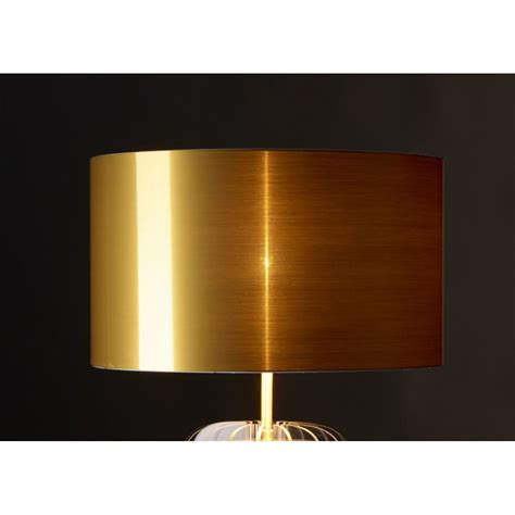 le transparente en plexi et abat jour or argent ou cuivr 233 44 lights design