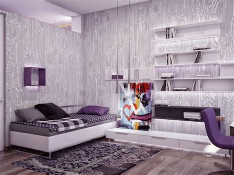 purple bedroom colour schemes modern design jugendzimmer ideen die ihren kindern auch gefallen werden