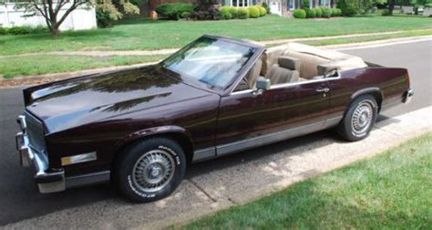 85 Cadillac Eldorado For Sale by Sell Used 1985 Cadillac Eldorado Touring Coupe Convertible