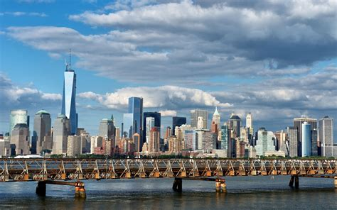 new york cityscapes architecture bridges new york