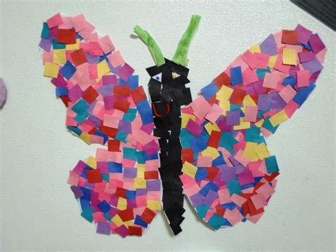 preschool craft projects students at this cclc welcomed springtime by creating a