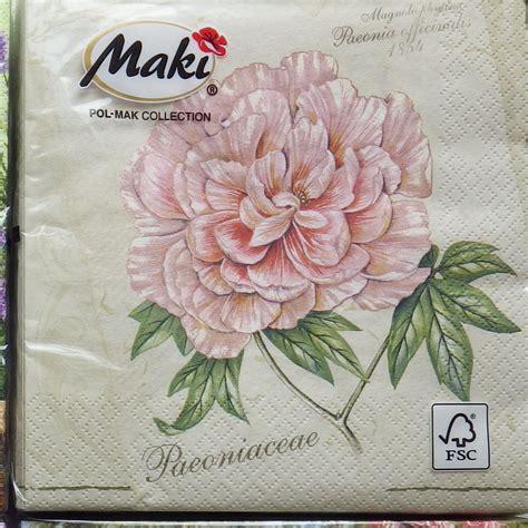 shabby chic napkins 20 paper napkins shabby chic decoupage vintage serviette
