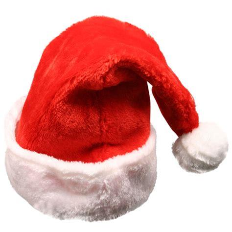 large santa hats plush santa hat